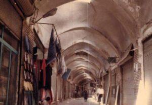 بازار ۷۰۰ ساله در فاضلاب غرق میشود!