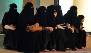 دختران عربستانی به سربازی میروند