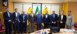 نشست مشترک مدیران عامل بانک ملت و شرکت ملی گاز ایران
