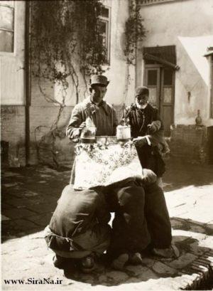 شهرفرنگ در ۱۰۰ سال پیش