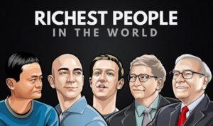 ۱۰ ثروتمند برتر جهان در یک ردهبندی