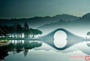 عجایب پل ماه در مرکز تایوان