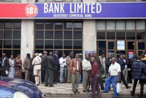تورم ۳۰۰ درصدی زیمبابوه