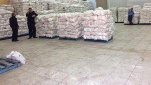 ترخیص ۷۷ هزار تن برنج به جریان افتاد