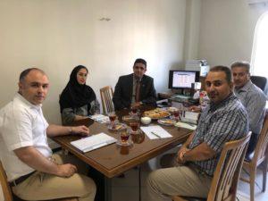 جلسه رتبهبندی اولیه شرکت تجهیزیاران