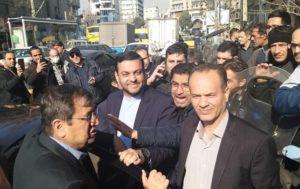 بازدید سرزده همتی از بازار ارز در روز پاسخ قاطع ایران به آمریکا