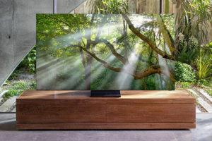 تصویر احتمالی از اولین تلویزیون بدون قاب دنیا منتشر شد