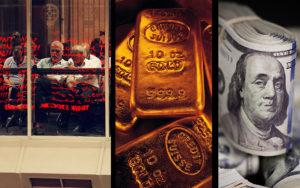 تاثیر عجیب بورس بر بازار طلا!