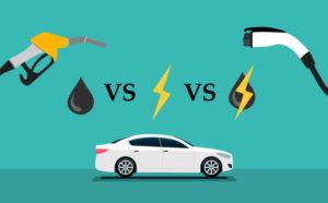 مقایسه اتومبیل های بنزینی و برقی