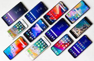 کاهش فروش تلفن هوشمند
